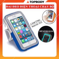 Đai đeo điện thoại chạy bộ, đai đeo điện thoại chống nước cao cấp TOPBODY – TUIDT01