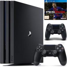 Combo PS4 Pro 1TB [Bảo Hành 2 Năm] + 2 Tay Cầm + Pes 2019