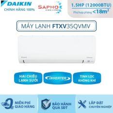 Máy Lạnh Treo Tường FTXV35QVMV- 1.5hp – Daikin 12000btu Inverter loại cao cấp – Gas R32 – Hàng chính hãng – Điện máy SAPHO