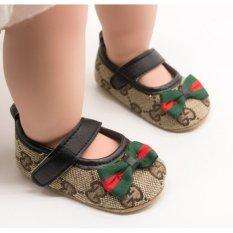 Giày bệt đế mềm tập đi cho bé trai và bé gái Giầy GC cho trẻ em từ 6 đến 18 tháng