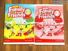 Family and Friends 2- 2nd- SB+WB- ảnh thật