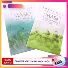 [TẶNG CỌ & QUE TRỘN] Mặt Nạ Thiên Nhiên LEMON BEAUTY – Mặt Nạ Khổ Qua Rừng – Mặt Nạ Tảo Biển – Mặt Nạ Sữa Dê Non – Hộp 50 Gram Lemon Mask