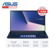 Laptop ASUS ZenBook 13 UX334FLC-A4096T (Intel® Core™ i5-8265U/ 8GB LPDDR3/ 512GB SSD PCIEG3x2 NVME M.2/ NVIDIA GeForce MX250/ Windows10 64Bit – màu XANH