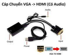 Cáp Chuyển VGA sang HDMI có audio