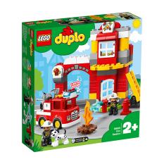 MY KINGDOM – Đồ Chơi Lắp Ráp LEGO DUPLO Trạm Cứu Hỏa Của Bé 10903