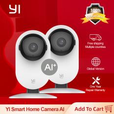 Bộ 2 Camera Yi Home AI Yoga Full HD 1080p Tích Hợp AI Tính năng Trông trẻ em – Bản Quốc Tế – Chính Hãng – Giá Siêu Tốt
