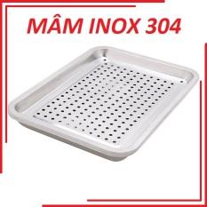 Mâm úp ly nước inox size lớn cao cấp MU01 làm bằng inox không gỉ, sáng bóng, Mâm úp ly nước inox size lớn cao cấp MU01 – KHAY ÚP LY- KỆ ÚP CHÉN