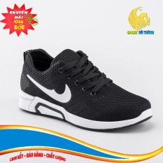 Giày sneaker nam – Giày nam thể thao sneaker – Giày nam thể thao Sport Hà Thành – SU001 (Đen Đỏ)