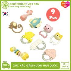 Set đồ chơi xúc xắc gặm nướu cho bé chính hãng Goryeo Baby Hàn Quốc an toàn, phát triển kỹ năng cho bé – Goryeobaby Việt Nam – đồ chơi cho bé, đồ chơi thông minh, đồ chơi cho trẻ sơ sinh