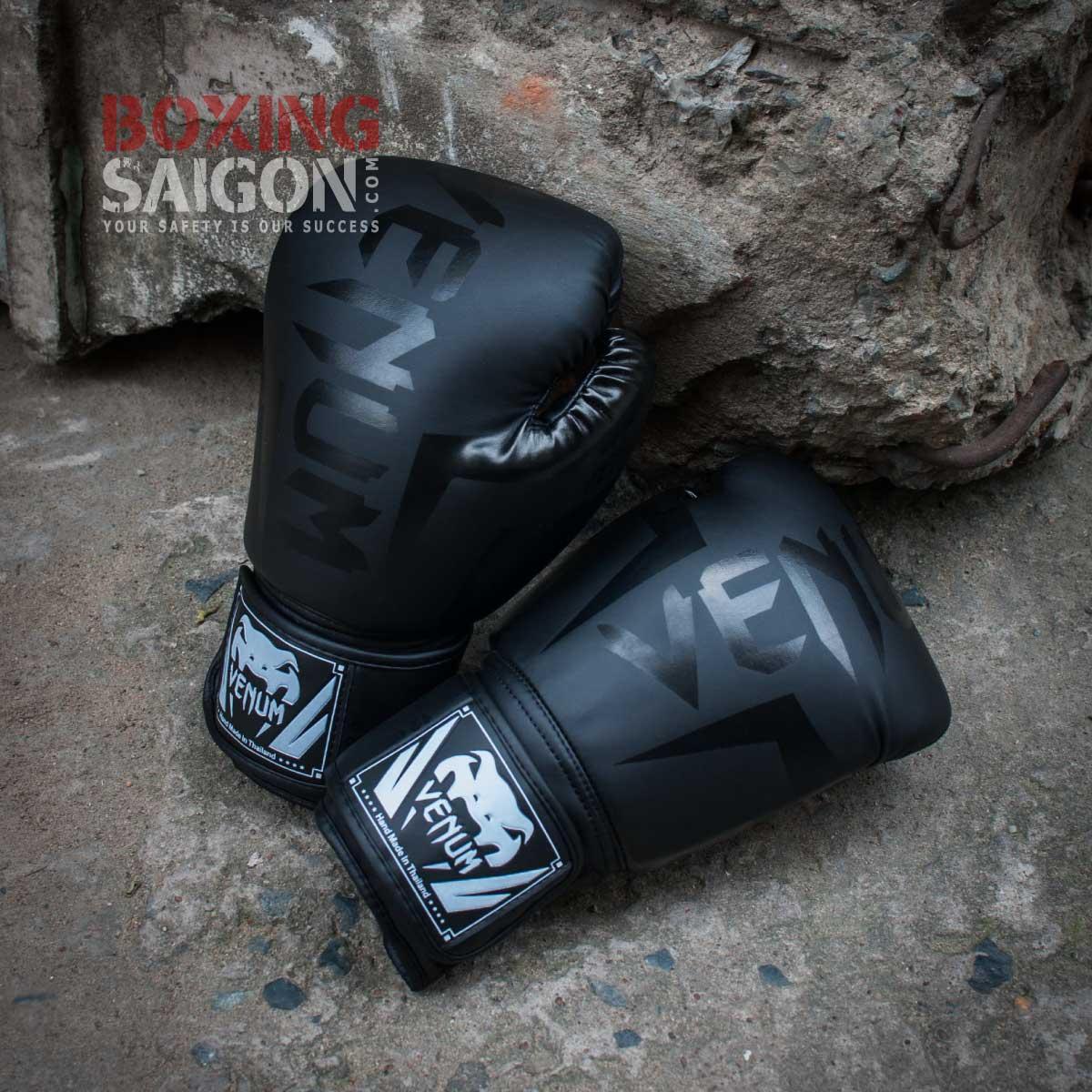 Găng tay Boxing Venum Elite - Đen