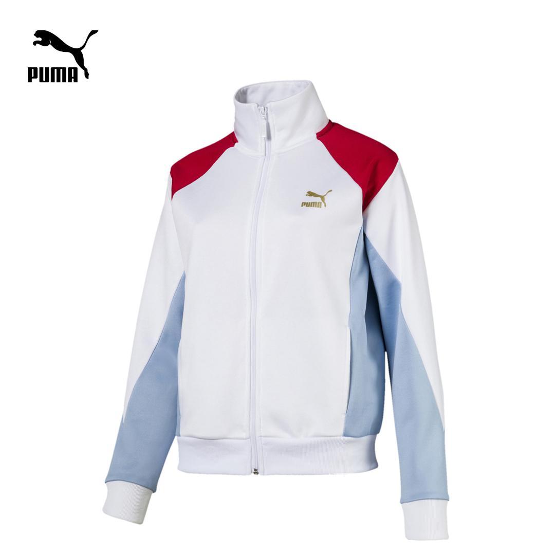 Áo khoác nữ PUMA Retro Track Jacket (Đen - trắng)