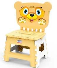 Ghế nhựa Duy tân có tựa ngồi cho bé nhiều màu sinh động ngộ nghĩnh thoải mái gập xếp được nhựa PP an toàn