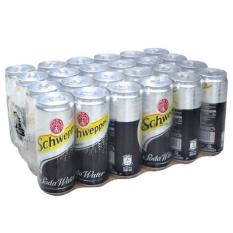 Soda water schweppes 330ml x 24 lon