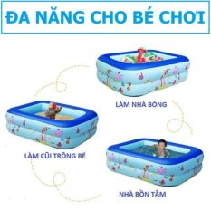 Bể bơi cho bé 2 tầng 1,2m – hàng tốt ( đảm bảo loại 1)