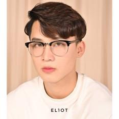 Gọng kính cận ELIOT ClubMaster kính nửa gọng thời trang Unisex
