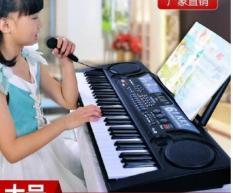 ĐÀN PIANO 61 PHÍM CHO BÉ-Đàn Kỹ Thuật Số Âm Cực Hay – Đàn Piano 61 Phím Có Mic Cho Bé Phát Triễn,Sáng Tạo Tự Học Tại Nhà Bảo Hành Lỗi 1 Đổi 1