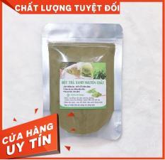 Bột trà xanh đắp mặt nguyên chất -T.r.i Mụn trắng da 100Gr