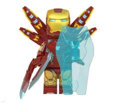 Minifigure Iron Man MK85 – Đồ Chơi Lắp Ráp WM6063
