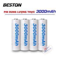 04 pin AA 3000mAh BESTON chính hãng – Pin sạc BESTON Pin mic không dây, camera, pin điều khiển