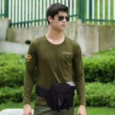 Túi đeo hông chiến thuật, du lịch, dân kĩ thuật, Túi Đeo Hông Kèm Chai Nước Cao Cấp