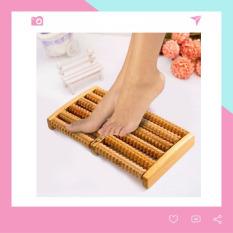 Bàn Lăn Gỗ Massage Chân 6 Hàng MX06