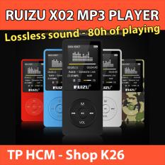 Máy Nghe Nhạc Lossless RUIZU X02 4GB Kèm Tai Nghe HiFi