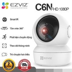 Camera Ezviz C6N-1080p camera wifi trong nhà đàm thoại 2 chiều quan sát ban đêm 10m bám theo chuyển động thông minh Hàng chính hãng Bảo hành 24 tháng