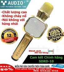 Micro cam dien thoai, Mic karaoke kèm loa bluetooth, Micro hát karaoke cho điện thoại, Micro không dây, Micro thu âm, Karaoke truc tuyen tren may tinh – Mic kiêm loa bluetooth SD10 dòng cao cấp- – Âm thanh sống động – Bảo hành UY TÍN