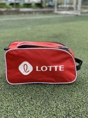 Túi đeo chéo đựng giày đá banh 2 ngăn Lotte, chống thấm nước