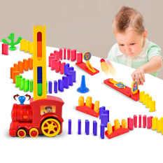 Đồ chơi thông minh, tầu hỏa xếp hình domino
