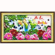 Tranh đính đá 5D – Lộc Hạc Phú Quý 111 – Tranh Minh Hiền (TỰ ĐÍNH ĐÁ)