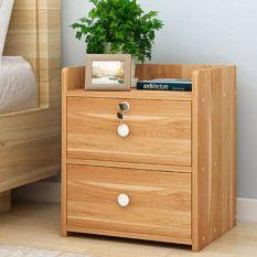 Tủ đầu giường, kệ đầu giường, chất liệu gỗ MDF cao cấp. Kích thước 40 x 26 x 32,5cm. Sang trọng, bền đẹp