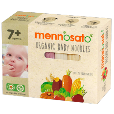 Mì ăn dặm hữu cơ cho bé nhiều vị 300g – Men No Sato