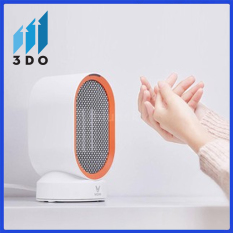Quạt sưởi mini Xiaomi, quạt sưởi ấm mùa đông, cảm biến thông minh thay đổi nhiệt độ gió đầu ra để tự động cân đối nền nhiệt, Bảo hành 12 tháng, 1 đổi 1 trong vòng 7 ngày