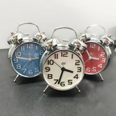 Đồng hồ báo thức để bàn chuông to, phù hợp trang trí, chất liệu inox chuông to và sang trọng