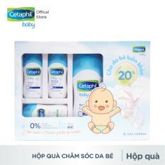 Hộp quà chăm sóc da khỏe tới trường cho bé Cetaphil Baby