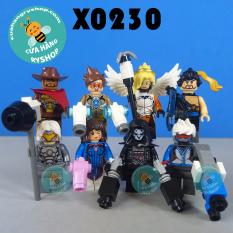 Set 8 nhân vật Non Lego – Overwatch – X0230 XINH