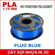 Dây sợi nhựa PLA in 3D 1.75mm 1Kg Fluo Blue