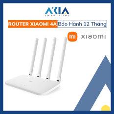 Bộ Phát WiFi Xiaomi Router 4A Siêu Mạnh 2 Băng Tần 2.4G 5G Chuẩn AC1200 – Tốc độ WiFi tối đa 1167Mbps – 4 ăng ten rời đa hướng – Bản Quốc Tế