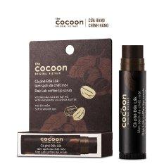 [GIẢM 15% KHI THANH TOÁN]Tẩy da chết môi cà phê Đắk Lắk Cocoon môi ẩm mềm 5g