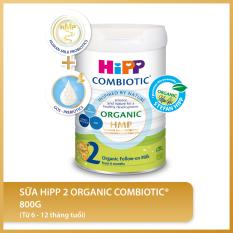 [FREESHIP] Sữa bột công thức HiPP 2 Organic Combiotic 800g
