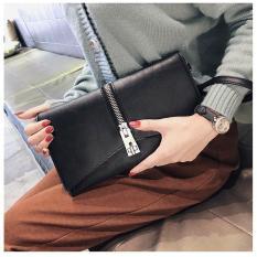 Clutch cầm tay nữ khóa kéo cách điệu có thể đeo chéo CLDT04