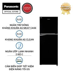 [Trả góp 0%] [Chỉ giao HN HCM ĐN] – Tủ Lạnh Panasonic 268 Lít Inverter NR-BL300PKVN – Trữ đông kháng khuẩn – Tinh thể bạc AG Clean ức chế 99.9% vi khuẩn – Bảo Hành 2 Năm – Hàng Chính Hãng