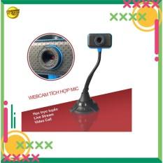 Webcam cao cổ tích hợp micro học trực tuyến-chat video trên máy tính, sản phẩm chất lượng, giá cả hợp lý, độ bền cao, dễ dàng sử dụng