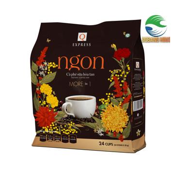 Cà phê Ngon Trần Quang, more in 1, phiên bản Tết 2021, bịch 24 tip