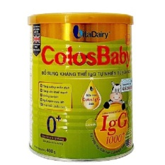 Sữa ColosBaby Gold 0+ 400g (trẻ từ 0 – 12 tháng)