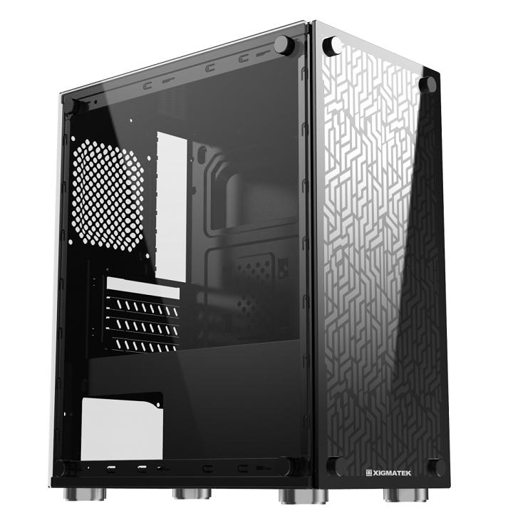 Vỏ case máy tính XIGMATEK NYX – Chưa fan