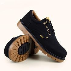Giày bốt nam cổ ngắn Martin ADODA màu đen – ADDGN292