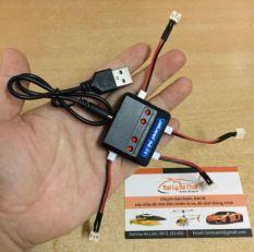SẠC USB 4 CỔNG JACK P2.54 KÈM 4 DÂY NỐI PH2.0-2P CHO MÁY BAY SYMA X5C X5A H5C JJRC H36 H56