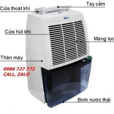 Máy Hút Ẩm FujiE HM-620EB, máy hút ẩm 20 lít